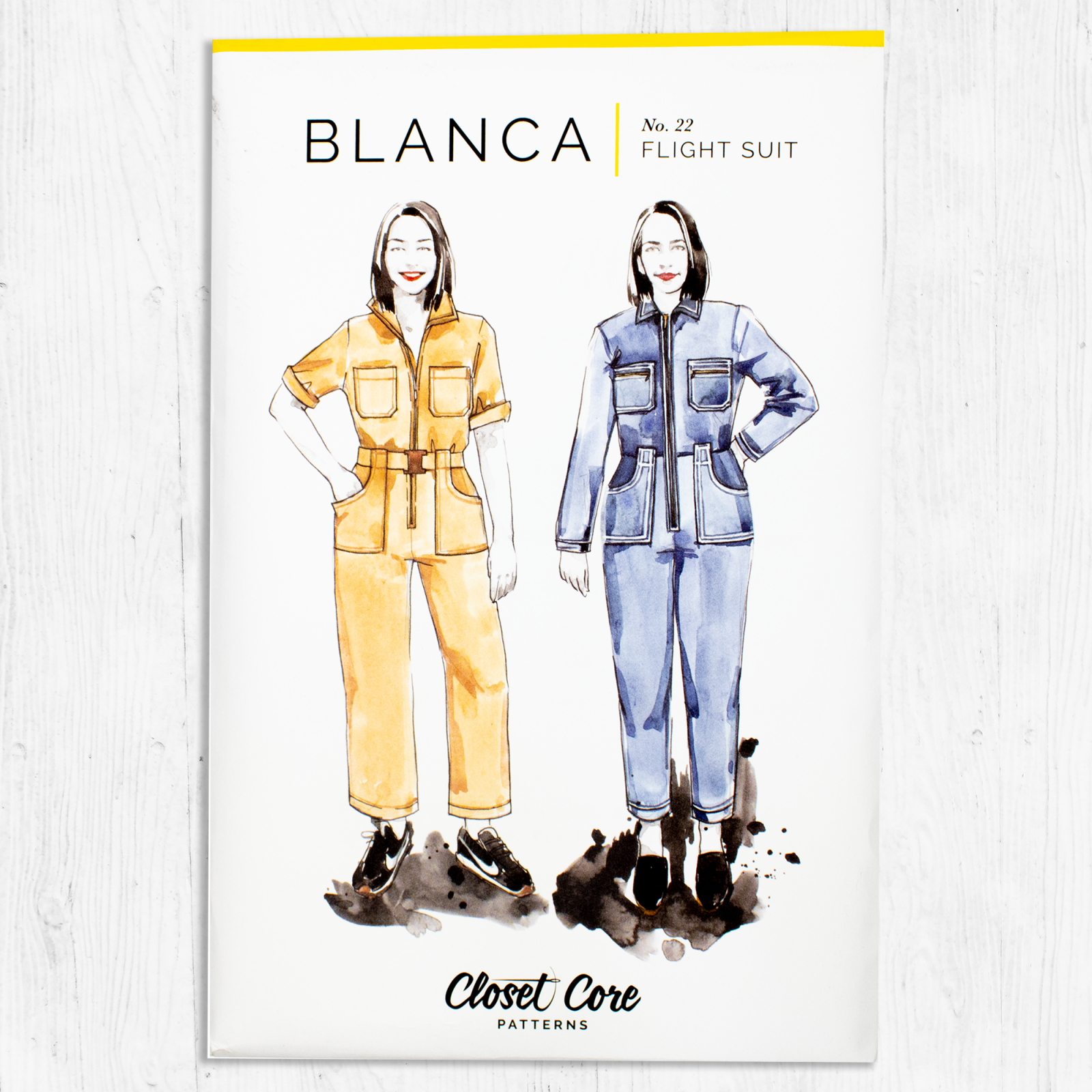 Closet Core Patterns - Blanca Flight Suit