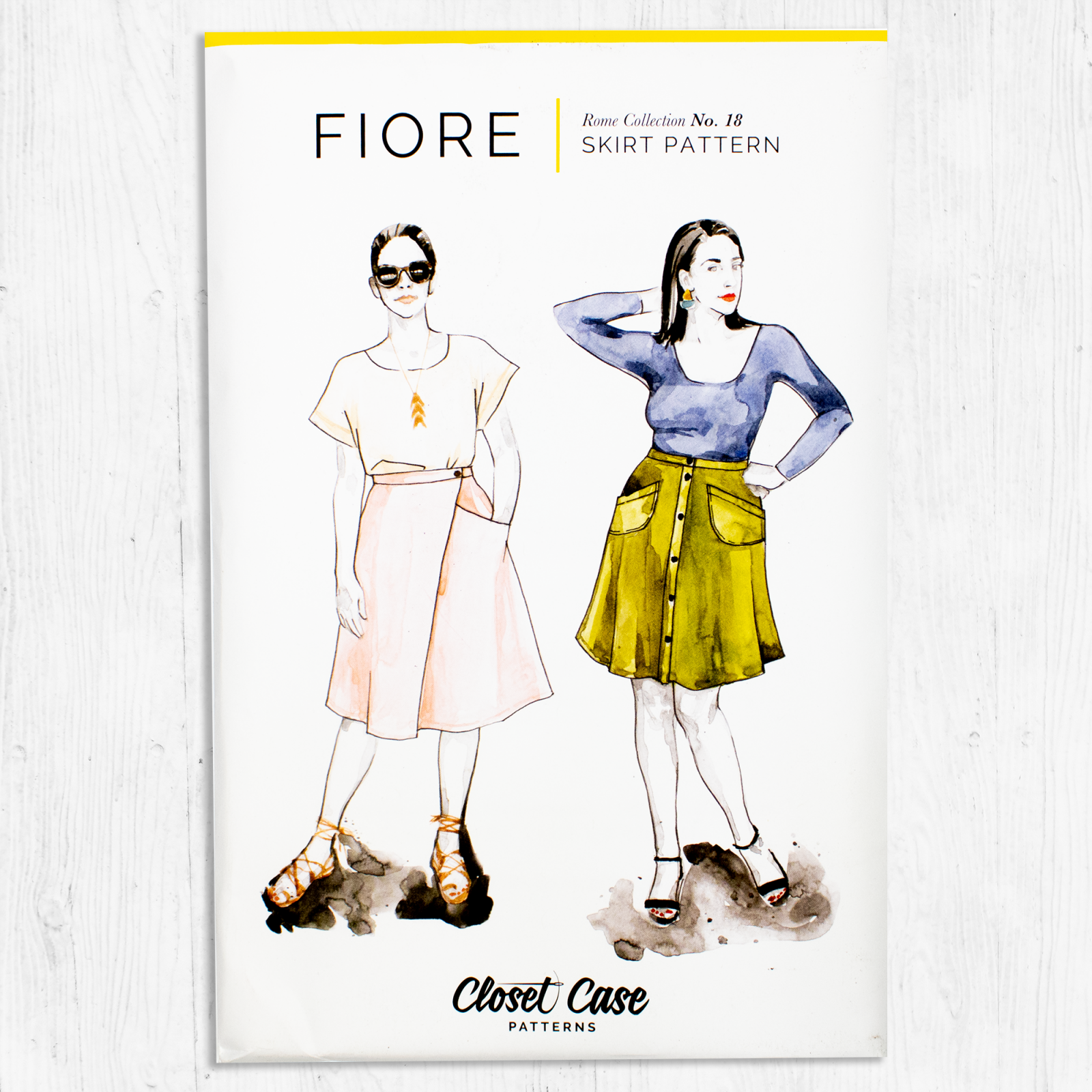 Closet Core Patterns - Fiore Skirt
