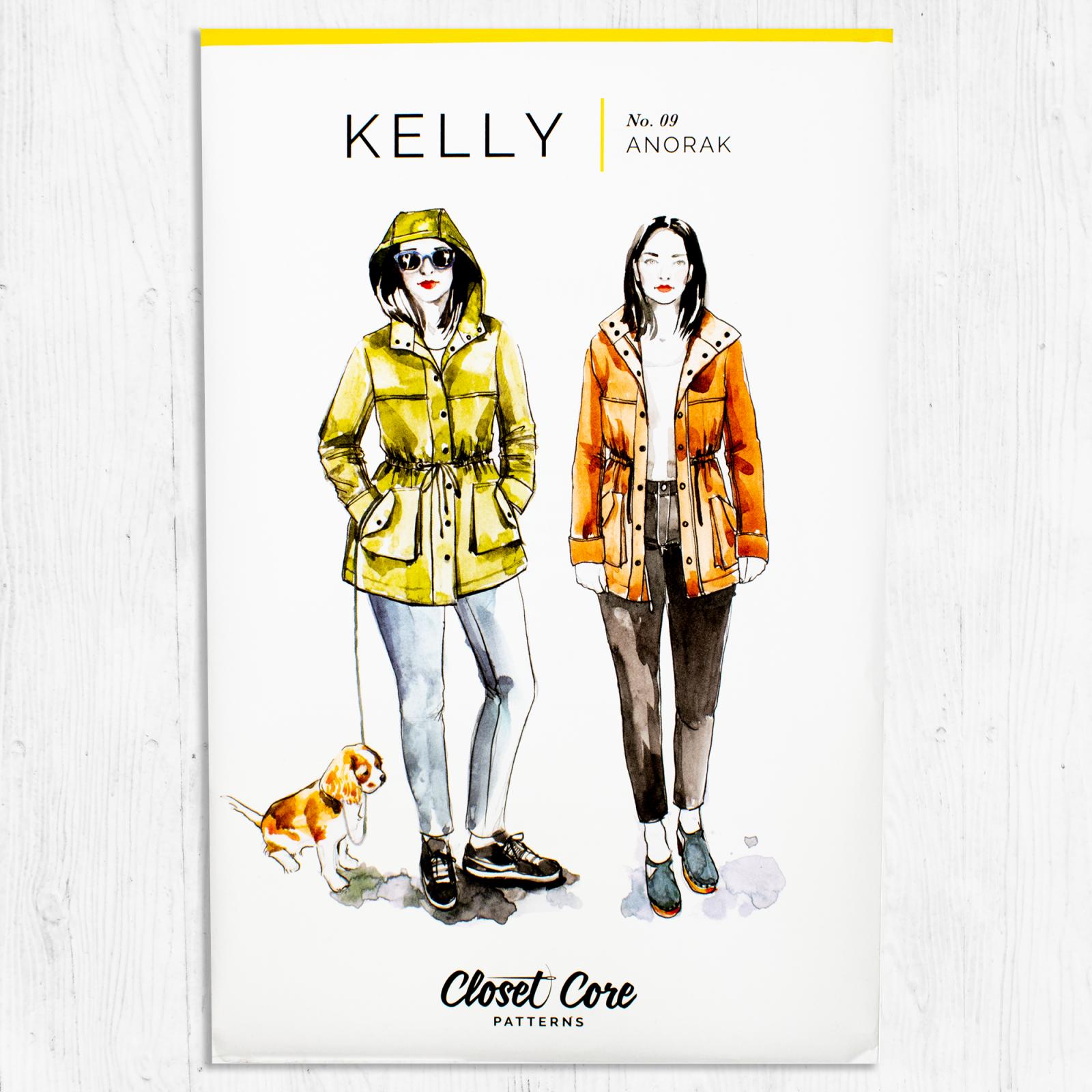 Closet Core Patterns - Kelly Anorak Jacket