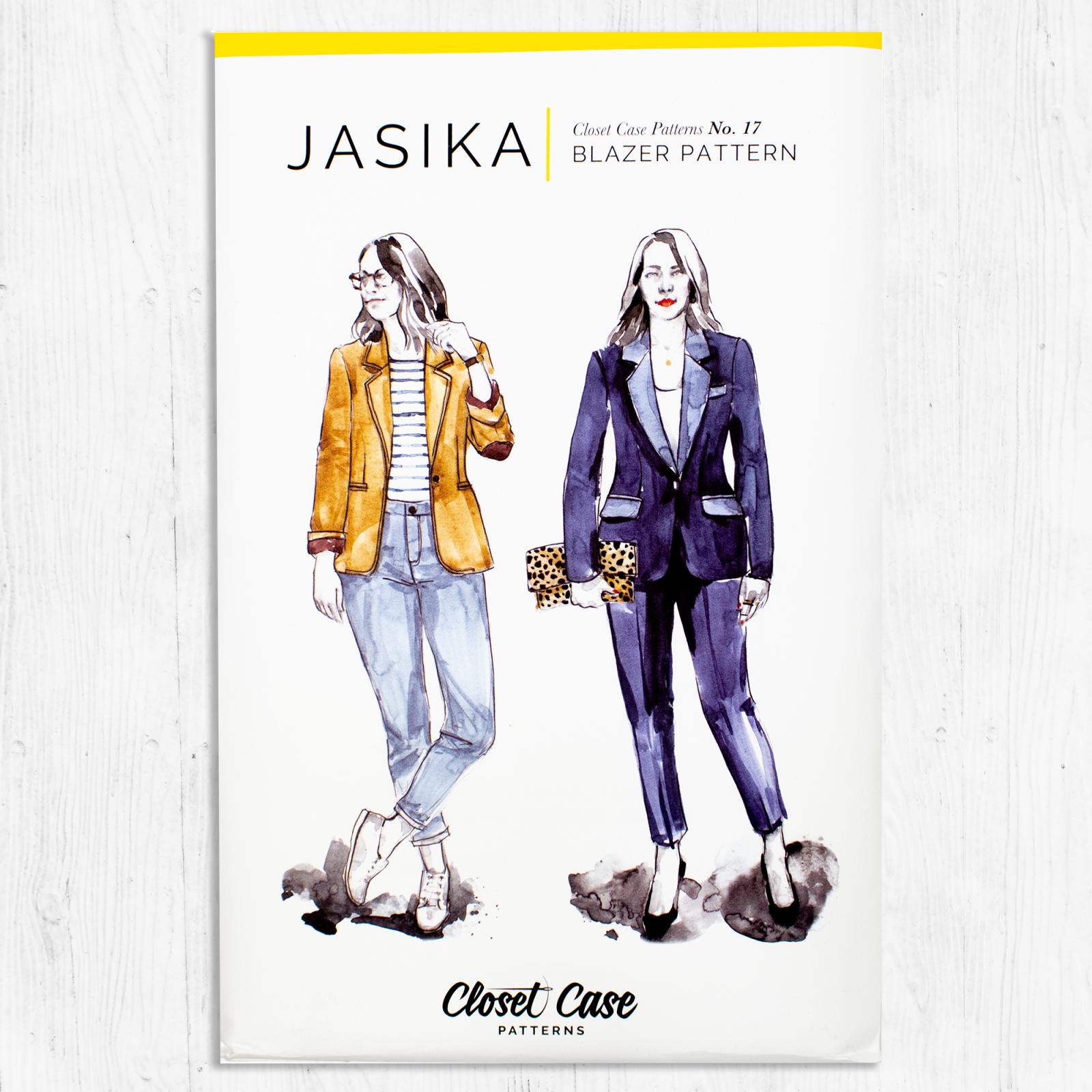 Closet Core Patterns - Jasika Blazer