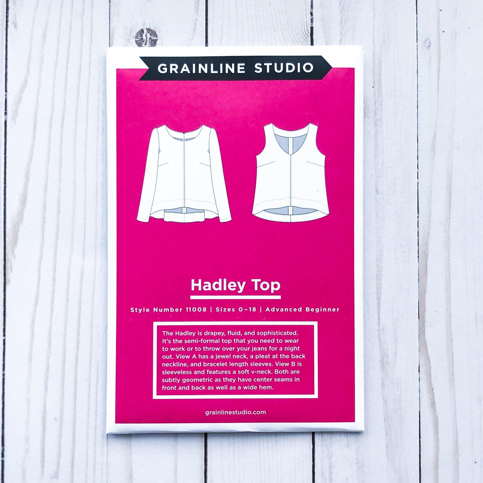 Grainline Studios - Hadley Top