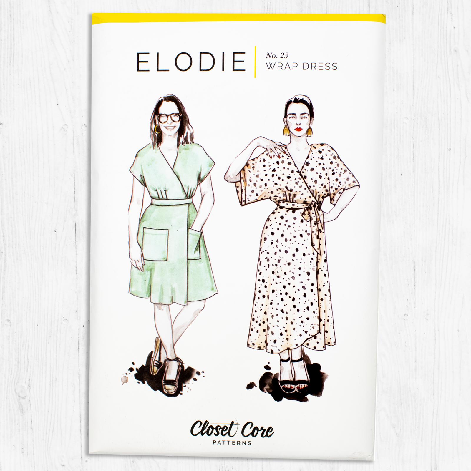 Closet Core Patterns - Elodie Wrap Dress