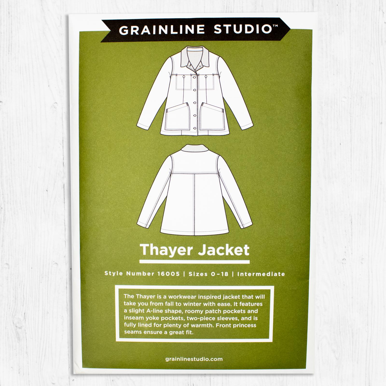 Grainline Studios - Thayer Jacket
