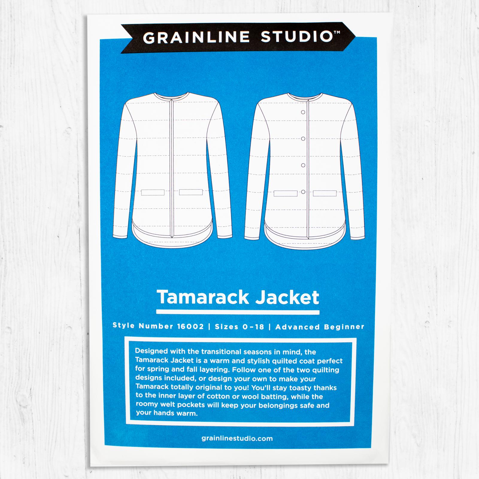 Grainline Studios - Tamarack Jacket
