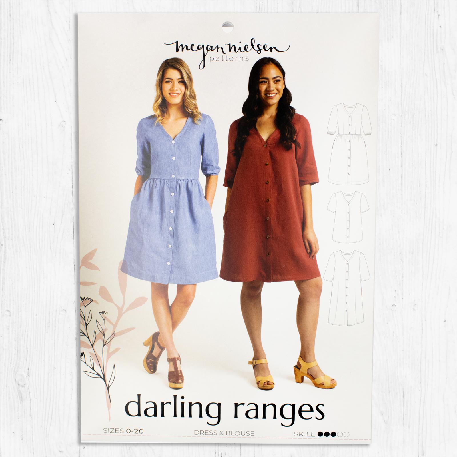Megan Nielsen Patterns - Darling Ranges