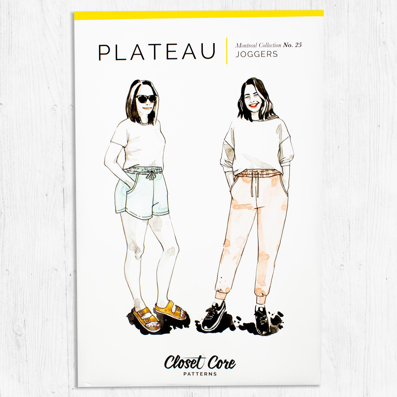 Closet Core Patterns - Plateau Joggers