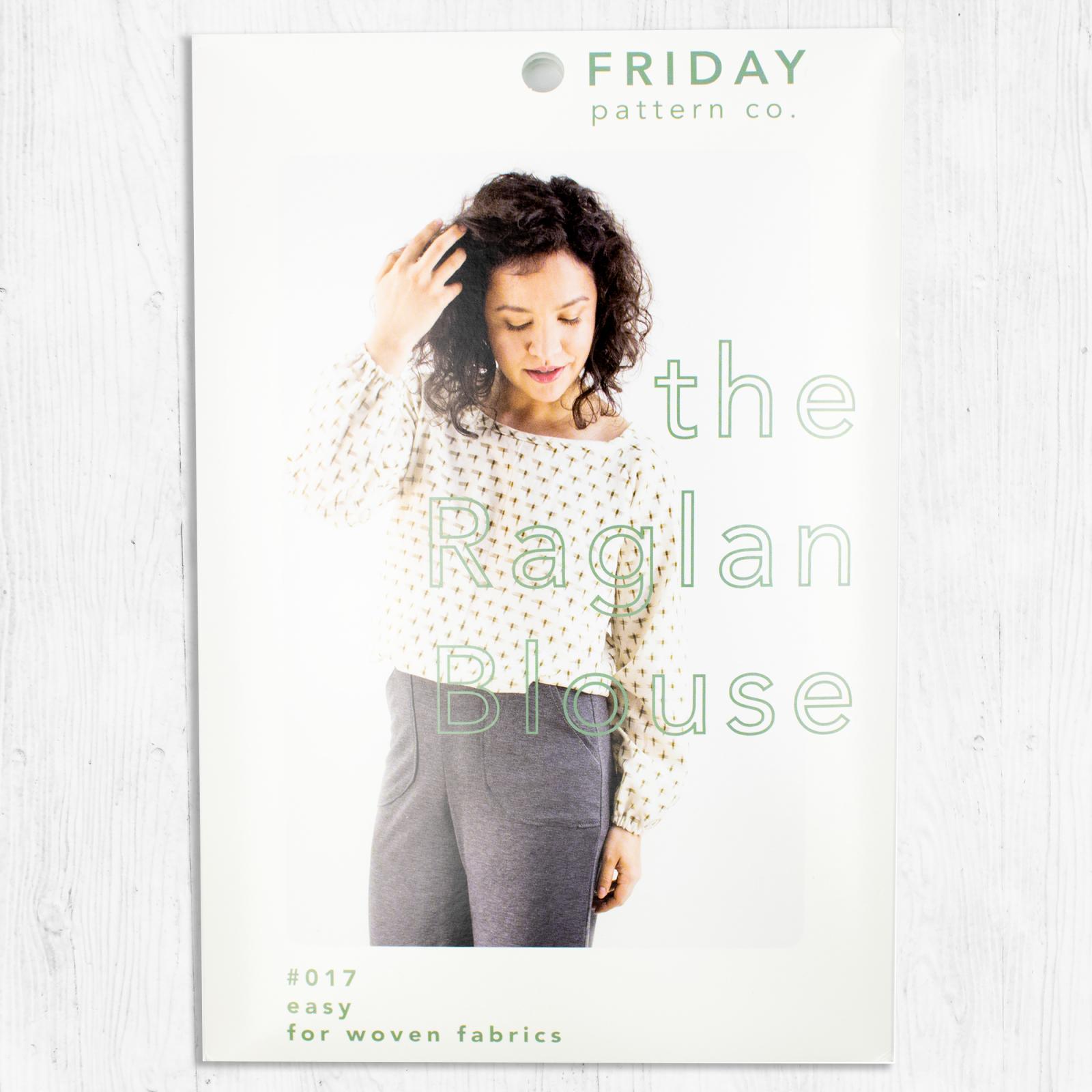 Friday Pattern Co. - The Raglan Blouse