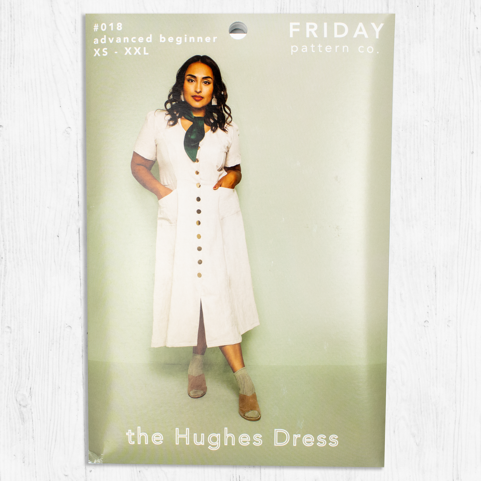 Friday Pattern Co. - The Hughes Dress