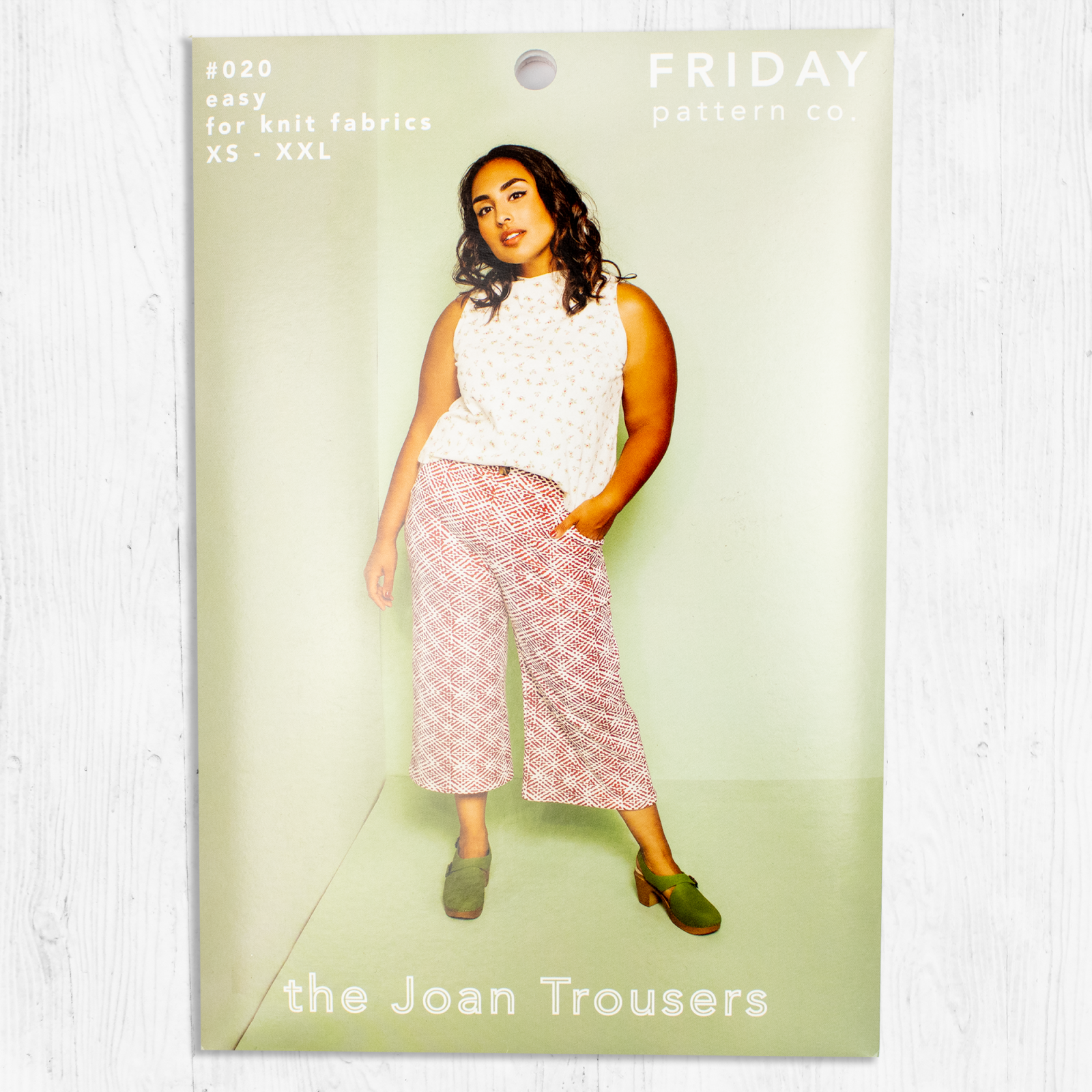 Friday Pattern Co. - Joan Trousers