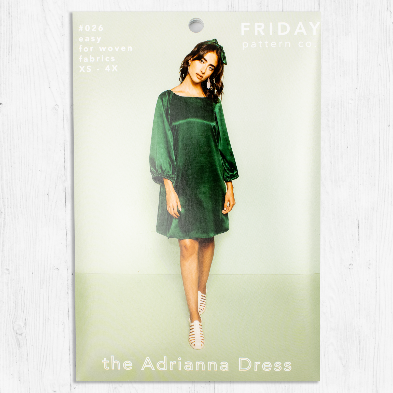 Friday Pattern Co. - The Adrianna Dress