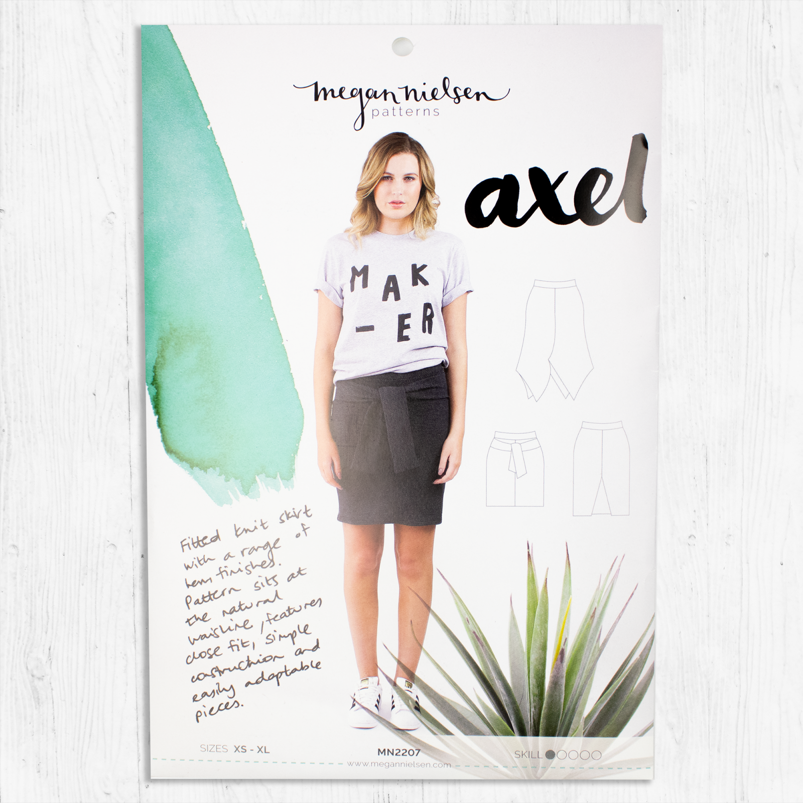 Megan Nielsen Patterns - Axel Skirt