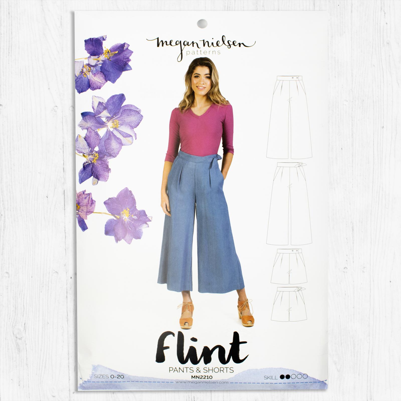 Megan Nielsen Patterns - Flint Pants + Shorts