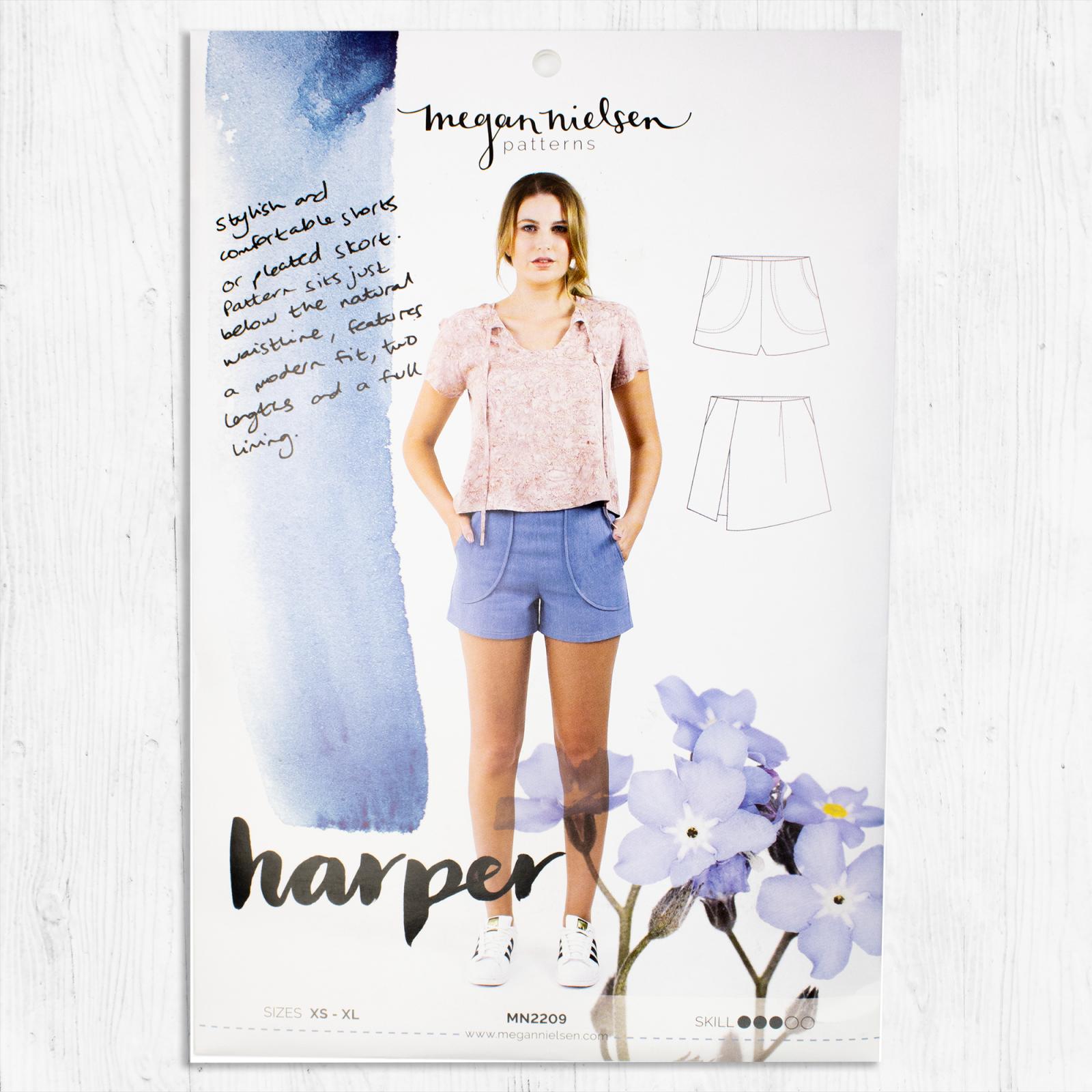 Megan Nielsen Patterns - Harper Shorts