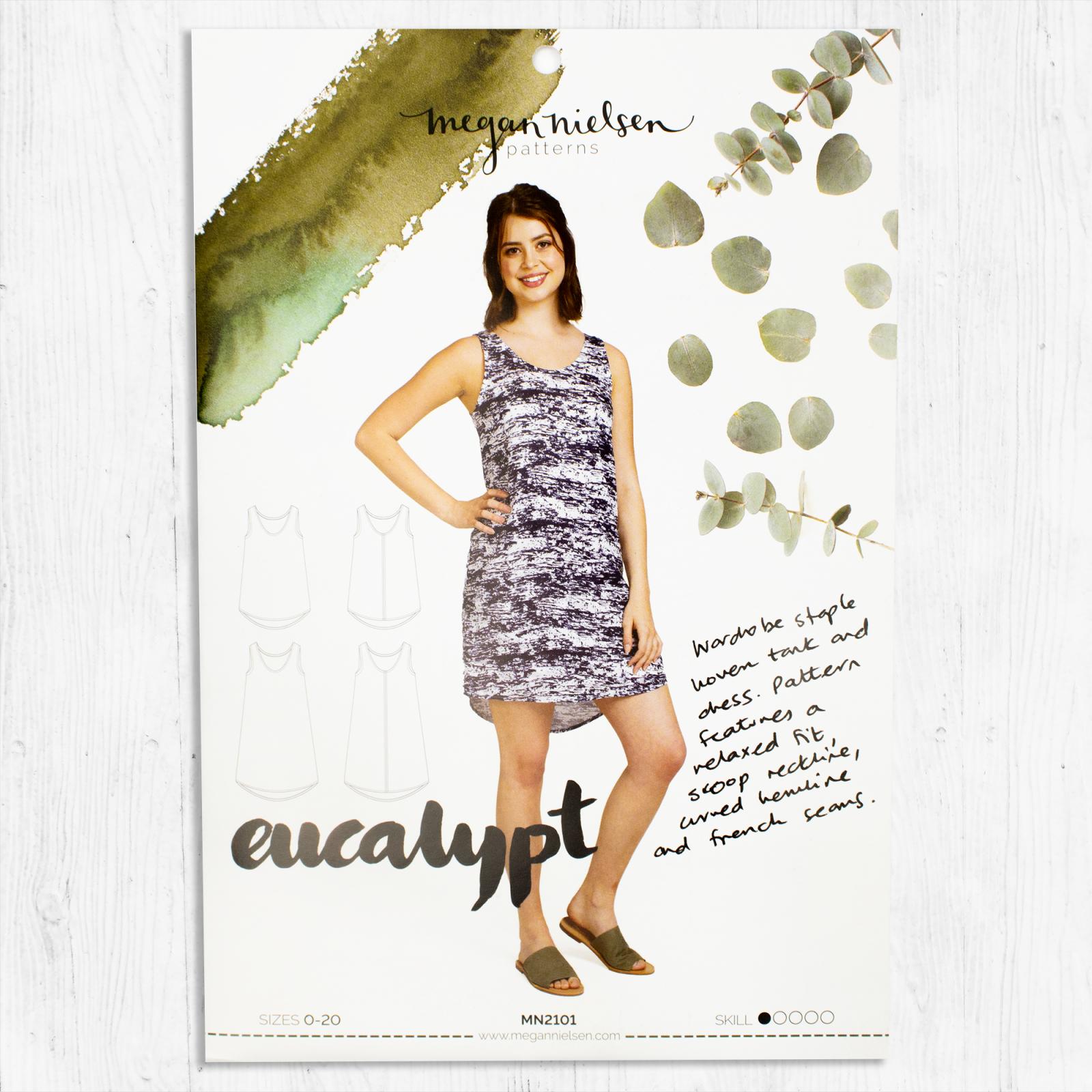 Megan Nielsen Patterns - Eucalypt Woven Tank & Dress