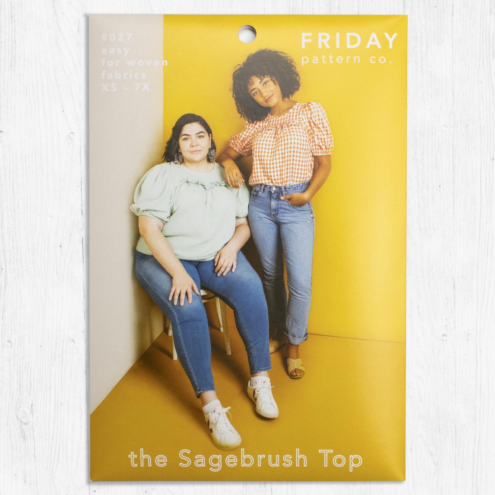 Friday Pattern Co. - Sagebrush Top