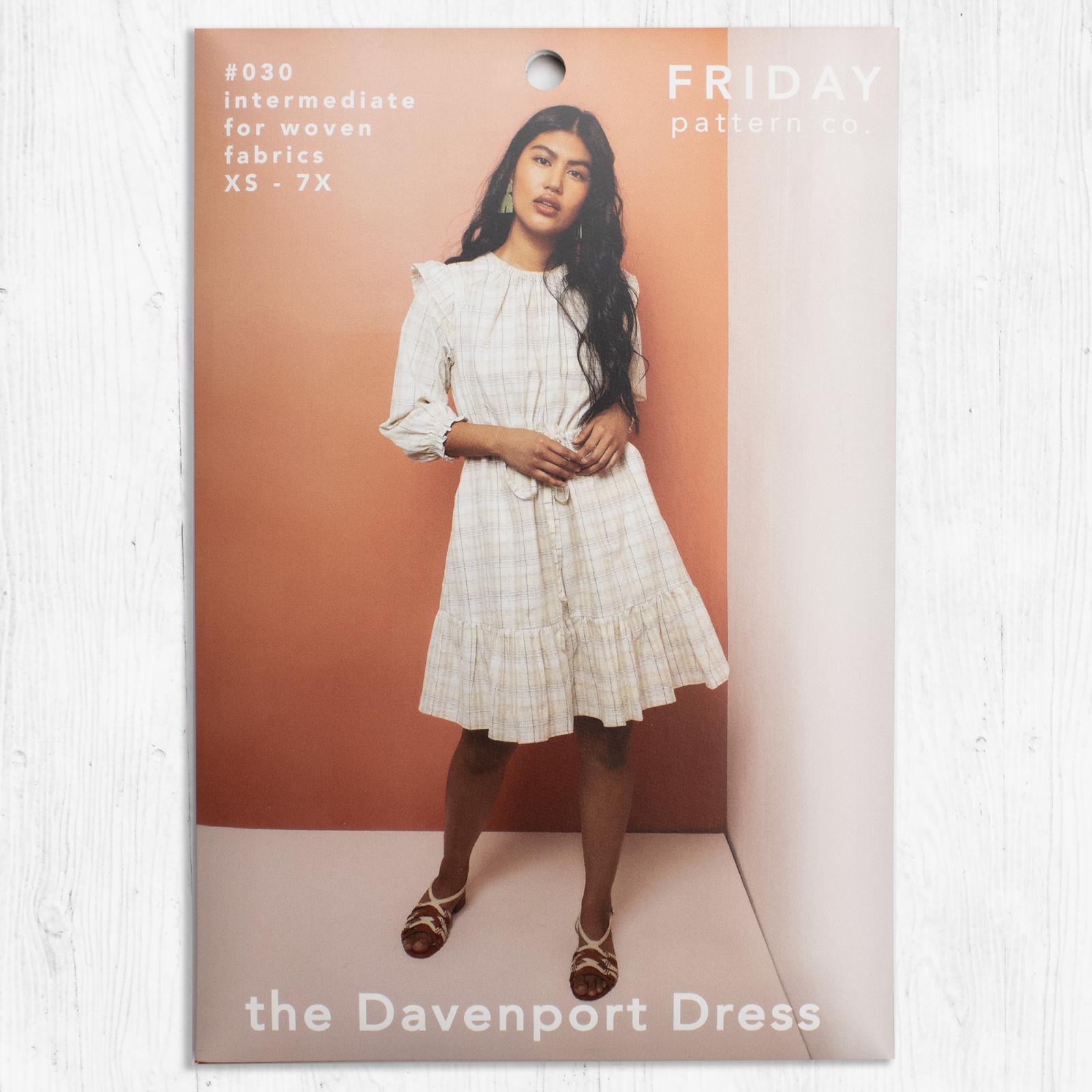 Friday Pattern Co - Davenport Dress