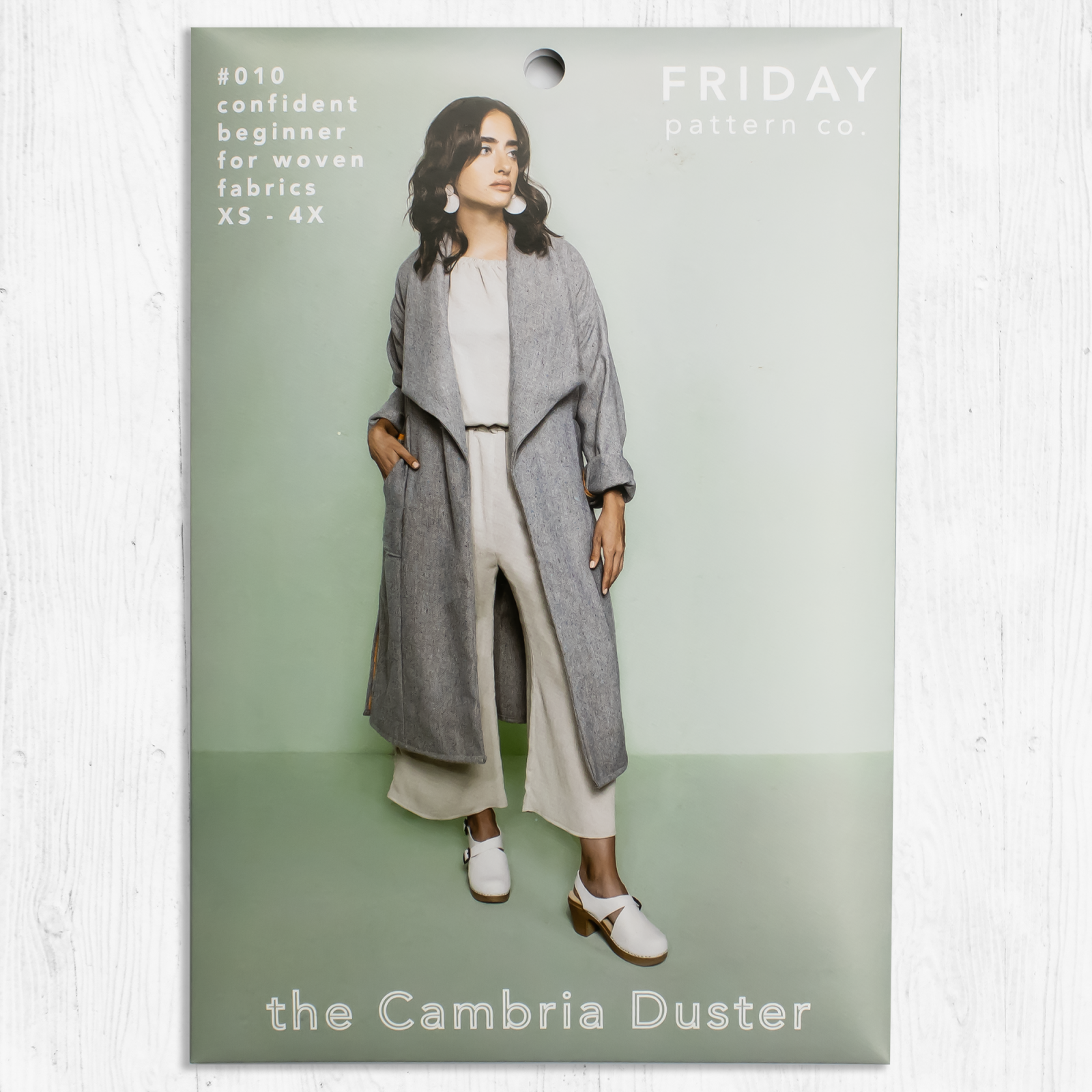 Friday Pattern Co. - The Cambria Duster