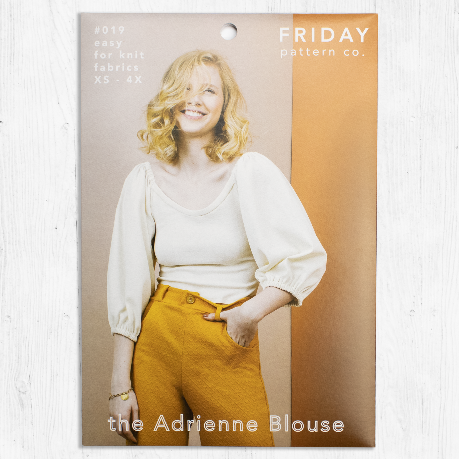 Friday Pattern Co. - The Adrienne Blouse