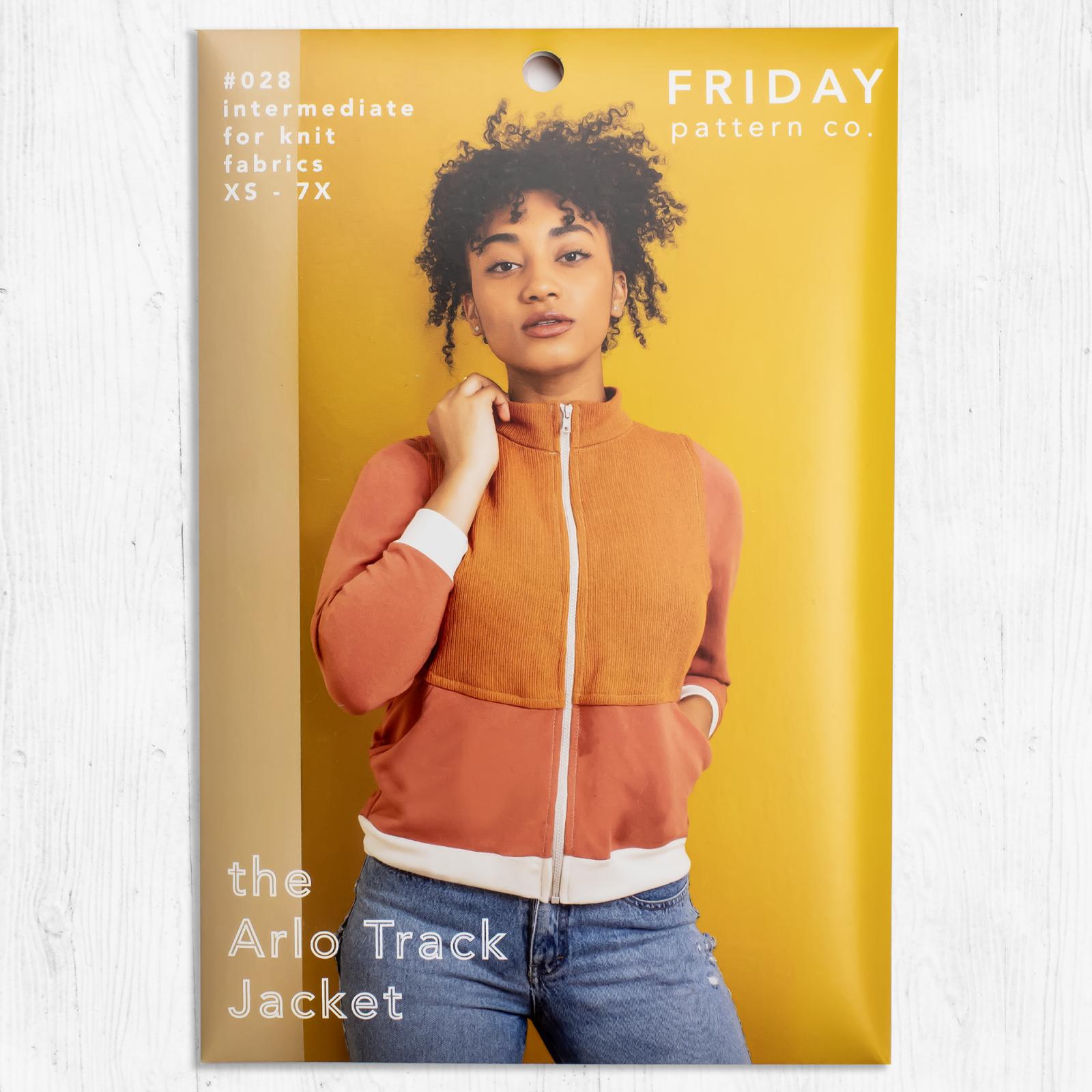 Friday Pattern Co. - The Arlo Track Jacket