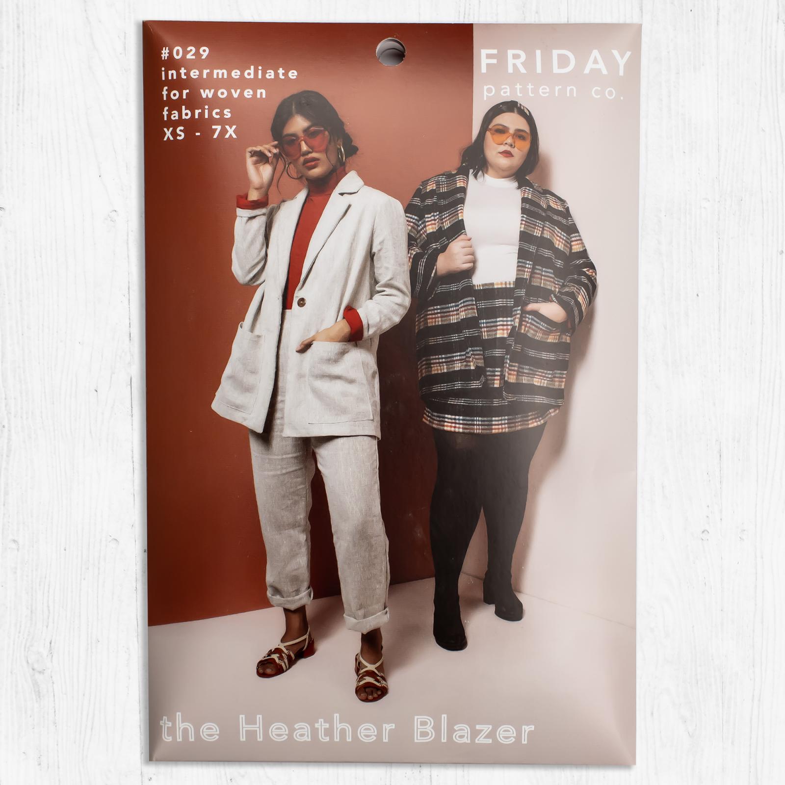 Friday Pattern Co. - The Heather Blazer