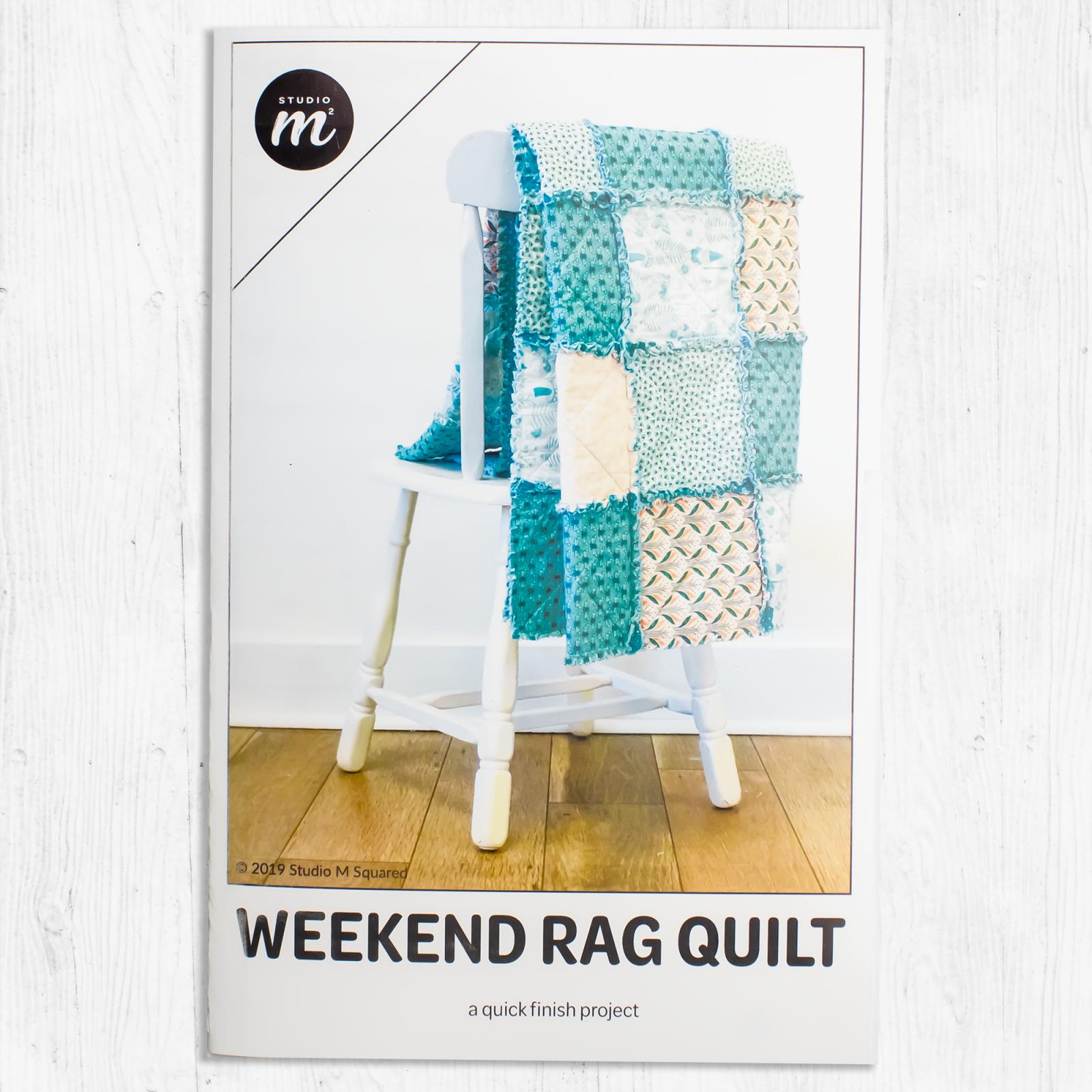 Studio M Squared - Weekend Rag Quilt