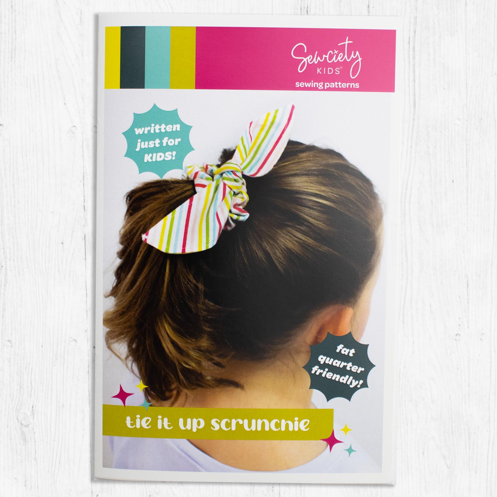 Sewciety Kids - Tie It Up Scrunchie