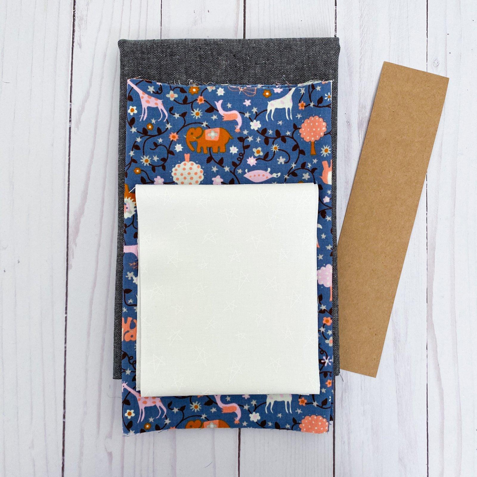 Love Burst - Paperpiecing Kit - Liana Periwinkle