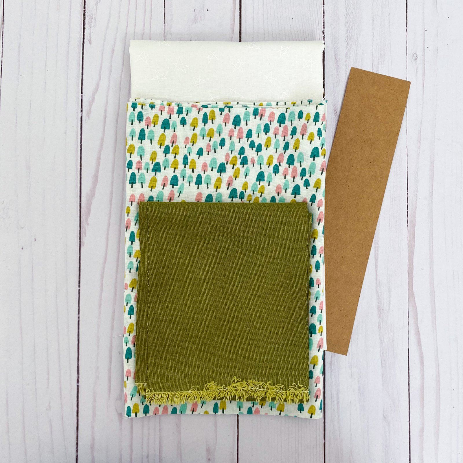 Love Burst - Paperpiecing Kit - Tiny Trees