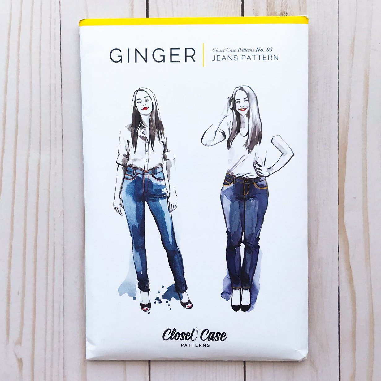 Closet Case Patterns - Ginger Skinny Jeans