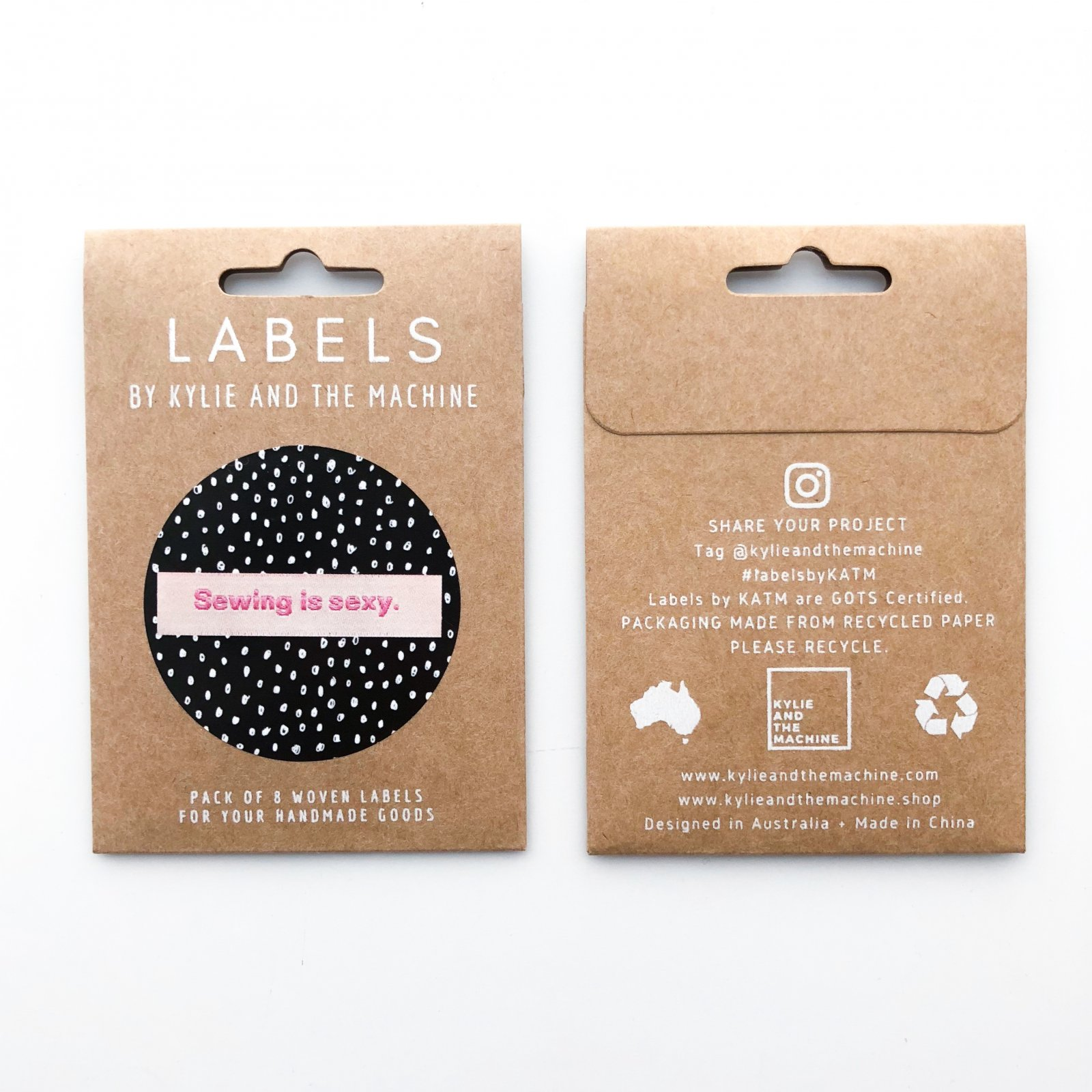 Garment Labels - Sewing Is Sexy