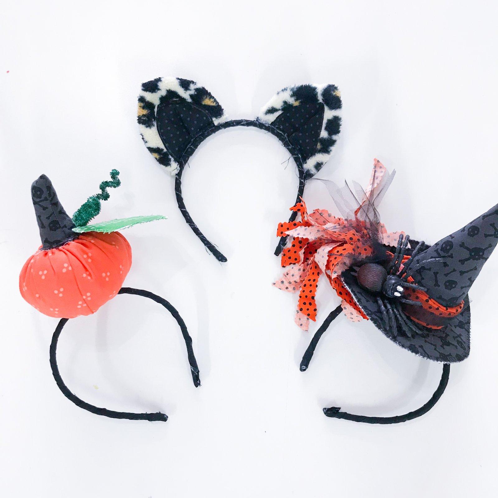 columbus day mini camp - halloween headbands