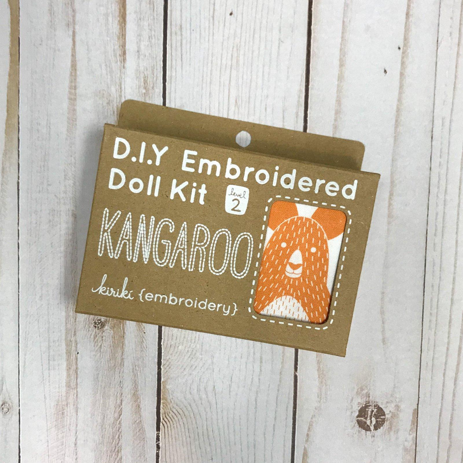 Embroidered Doll Kit - Level 2 - Kangaroo