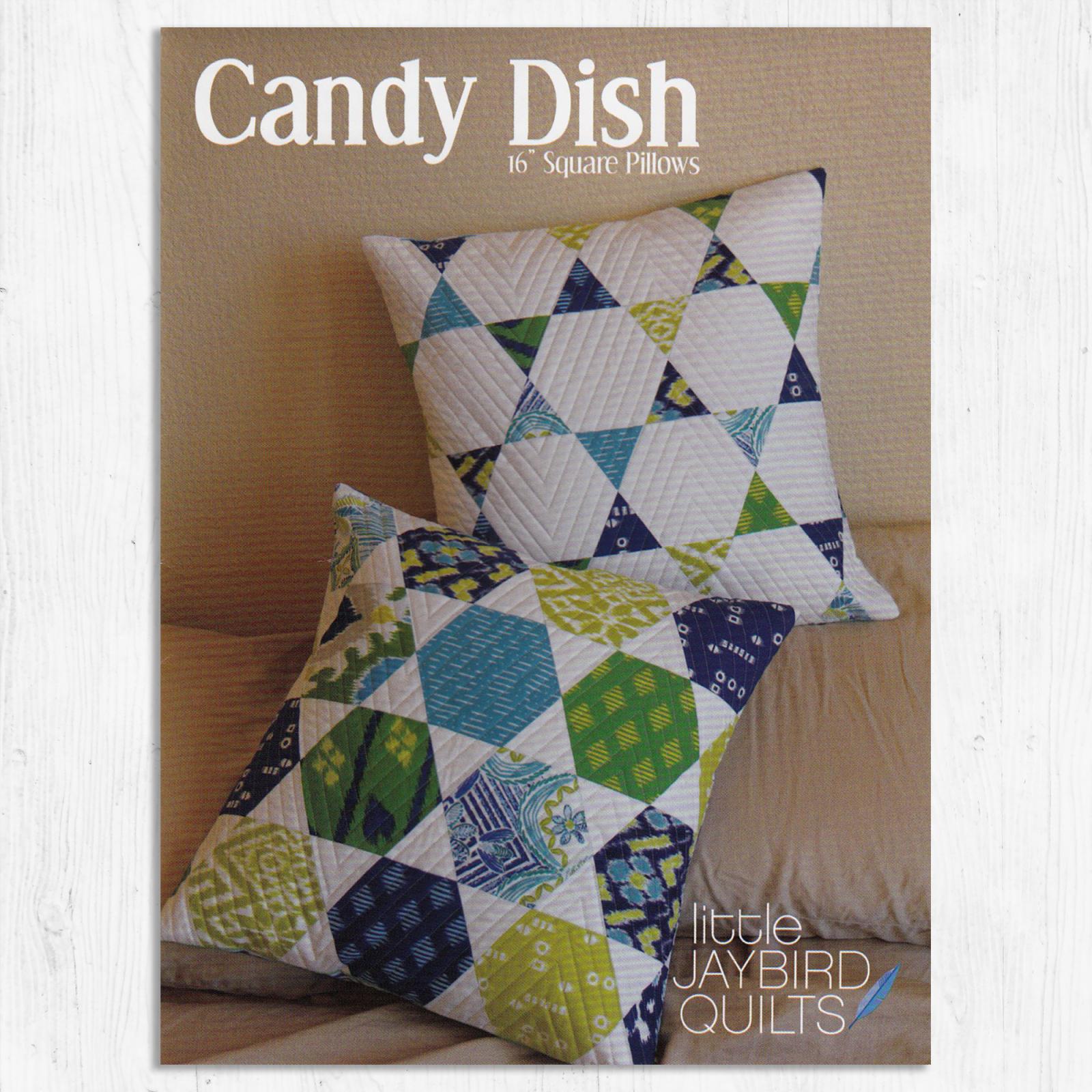 Jaybird Quilts  - Candy Dish Pillow Pattern