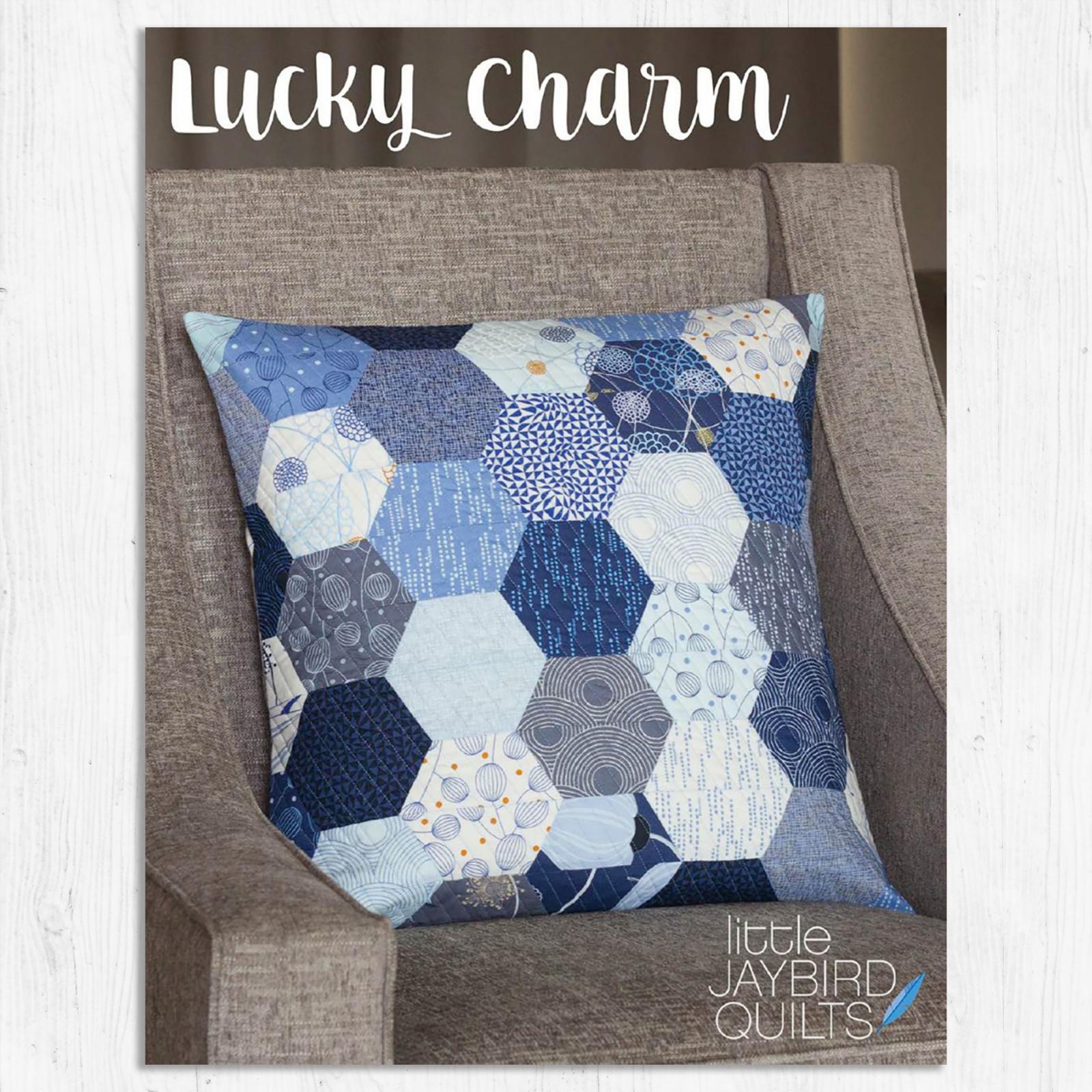 Jaybird Quilts - Lucky Charm Pillow Pattern