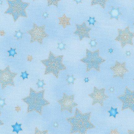 Stars of Light - Large Stars Light Blue