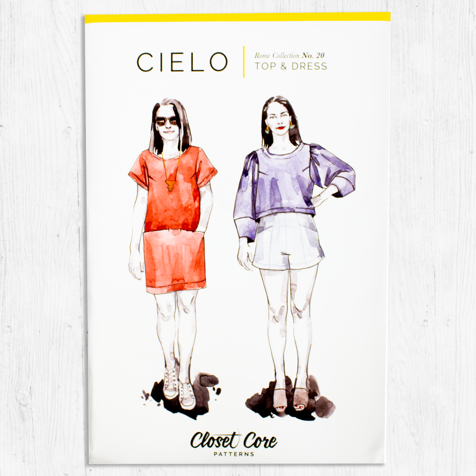 Closet Core Patterns - Cielo Top & Dress