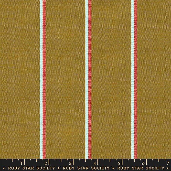 Warp + Weft Heirloom - Medium Stripe Suede