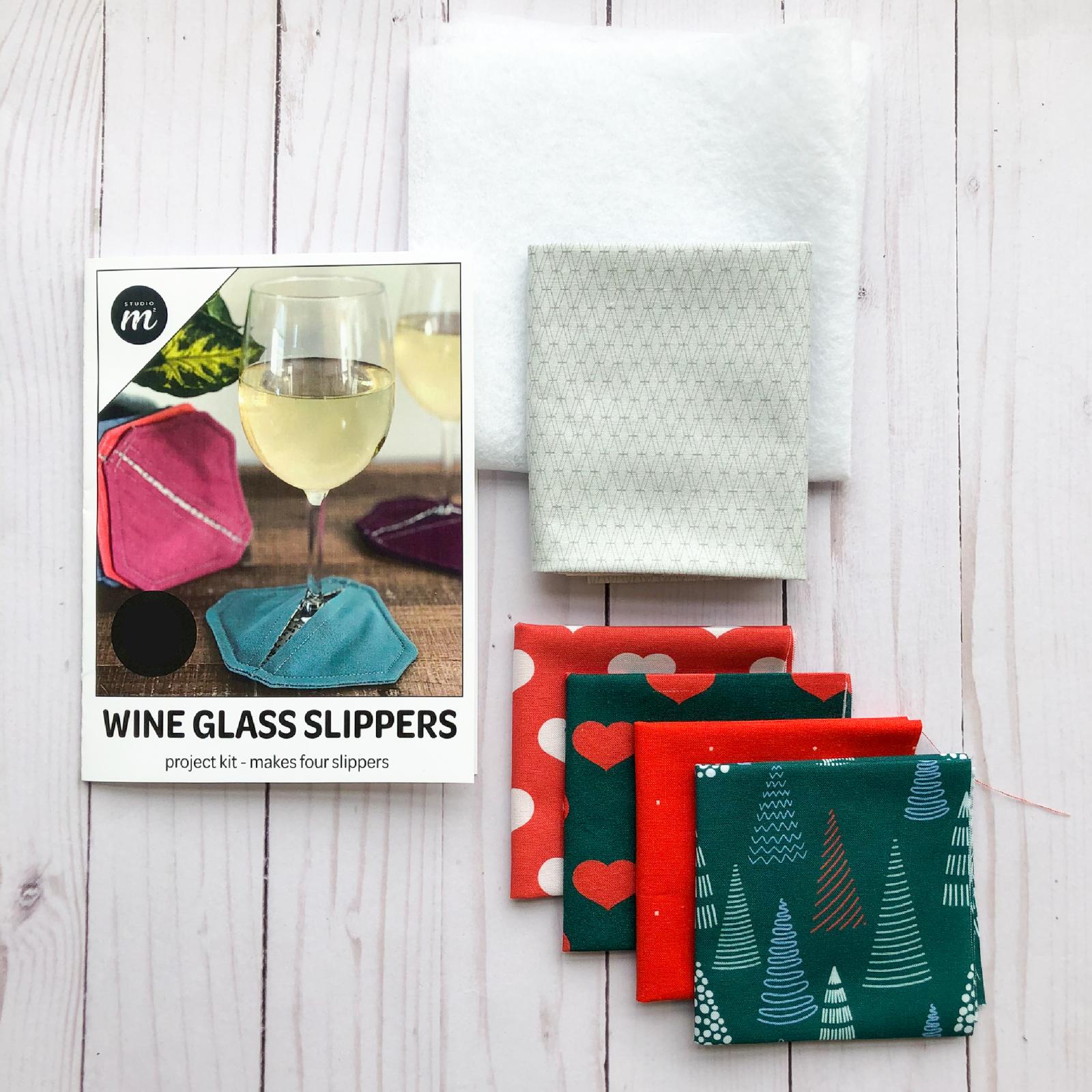 Wine Glass Slipper Kit - Merlot Bundle