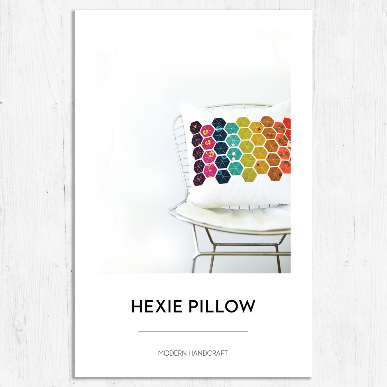 Modern Handcraft - Hexie Pillow
