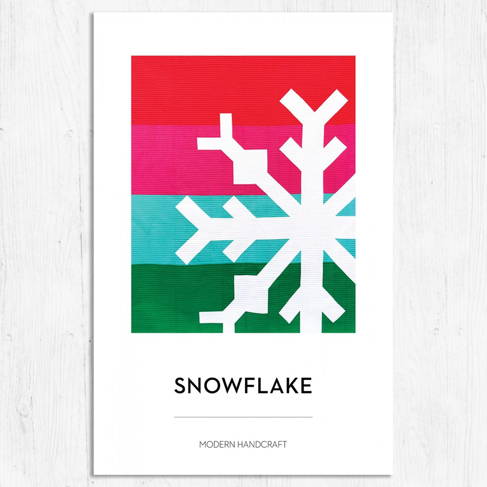 Modern Handcraft - Snowflake Quilt Pattern