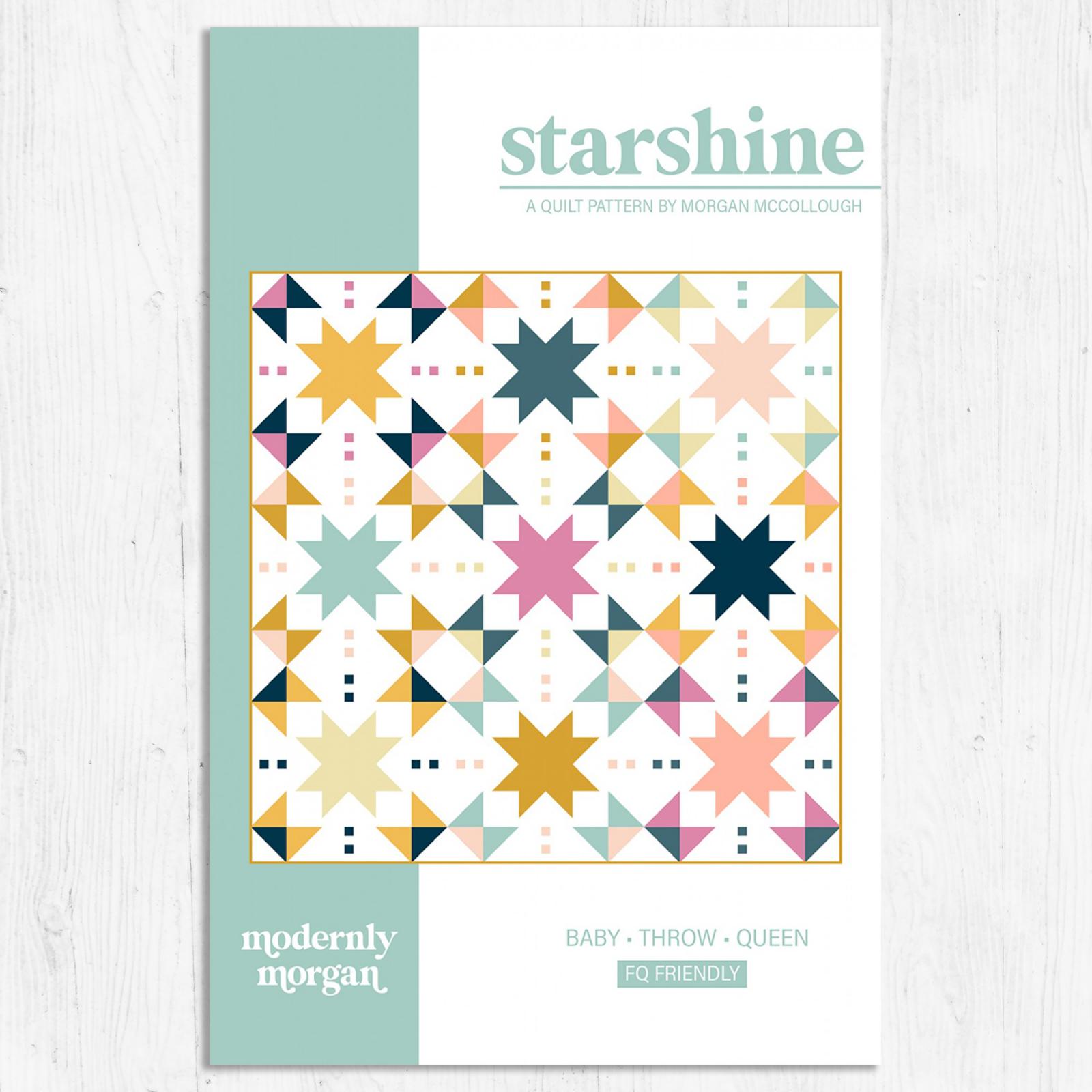 Modernly Morgan - Starshine Quilt
