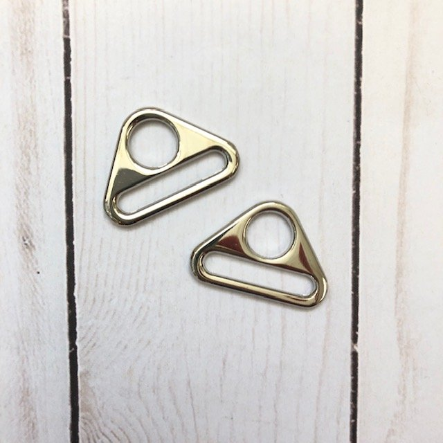 Triangle Ring Set of 2 - Nickel - 1