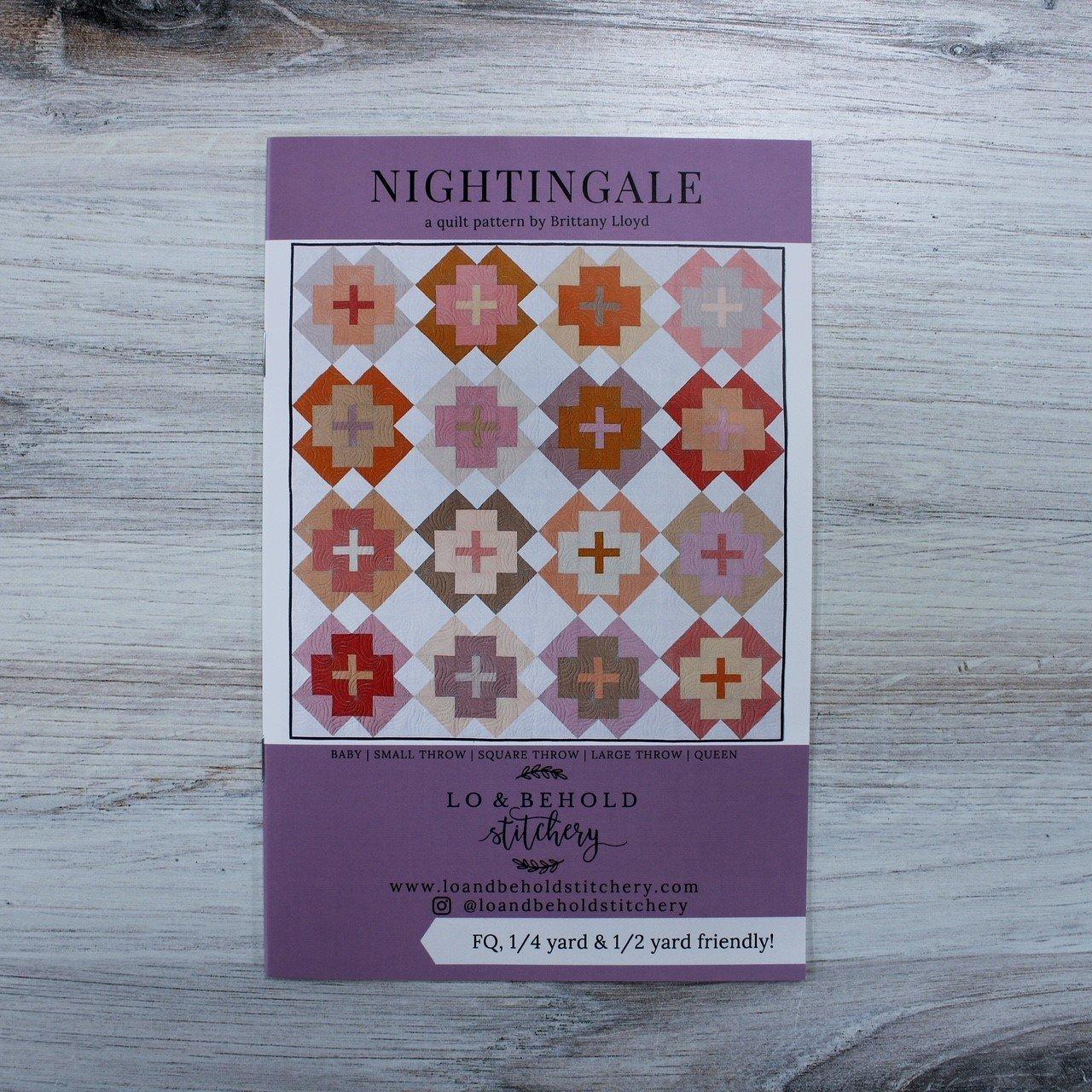 Nightingale Quilt Pattern