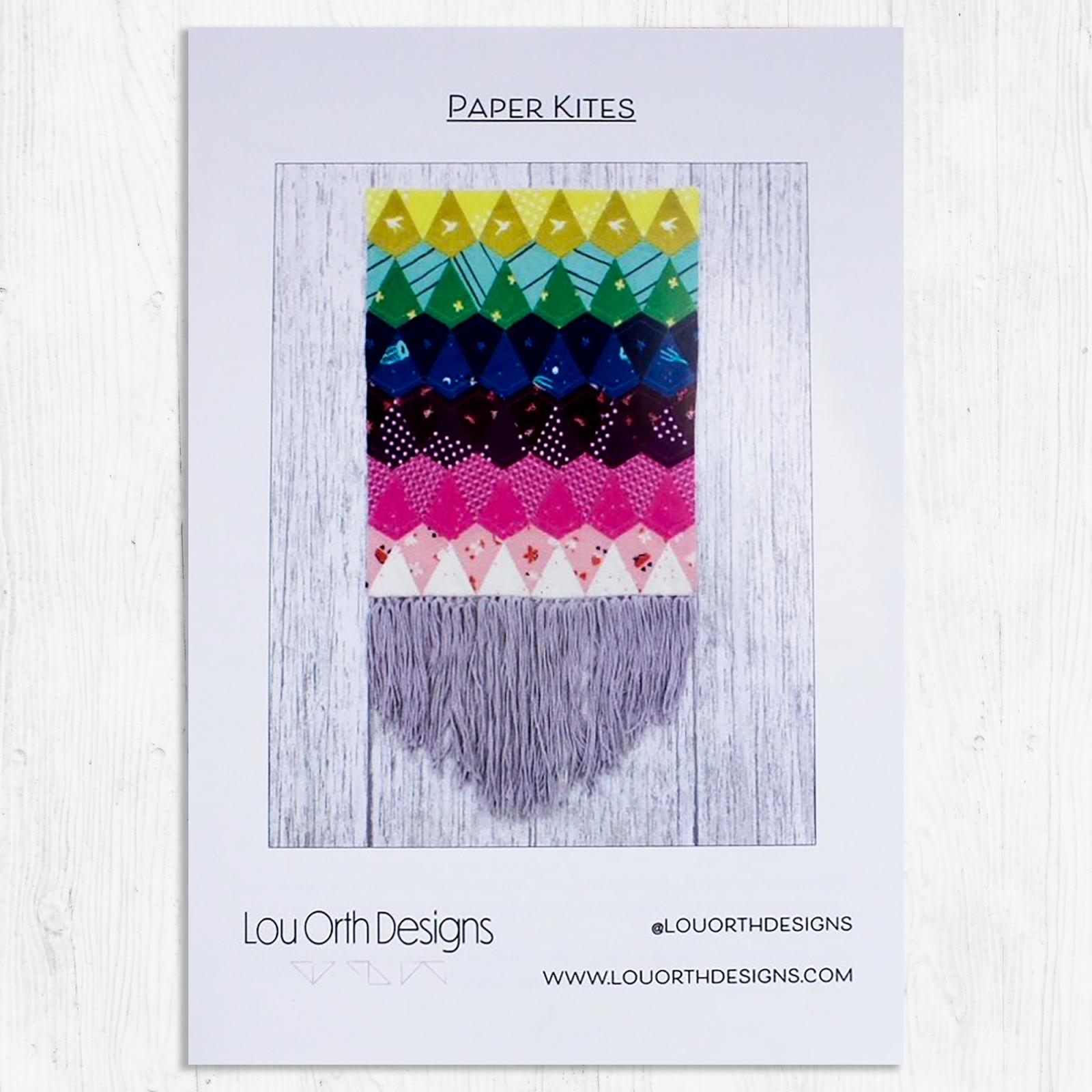 Lou Orth Designs - Paper Kites - EPP Pattern
