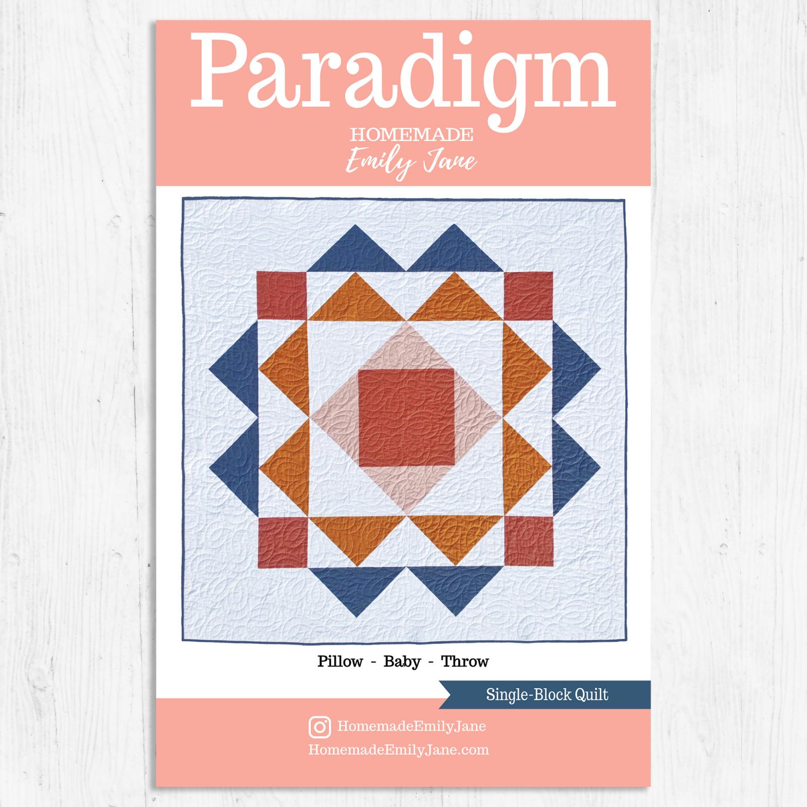 Paradigm Quilt Pattern