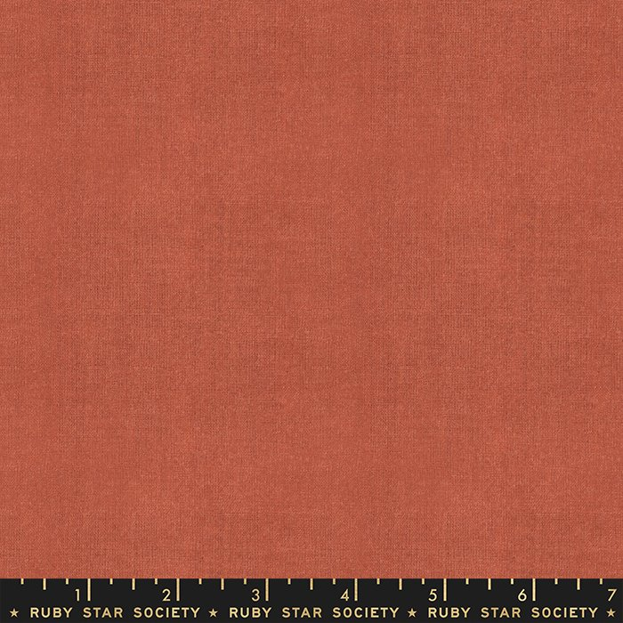 Warp + Weft Woven Solids in Persimmon - Ruby Star Society
