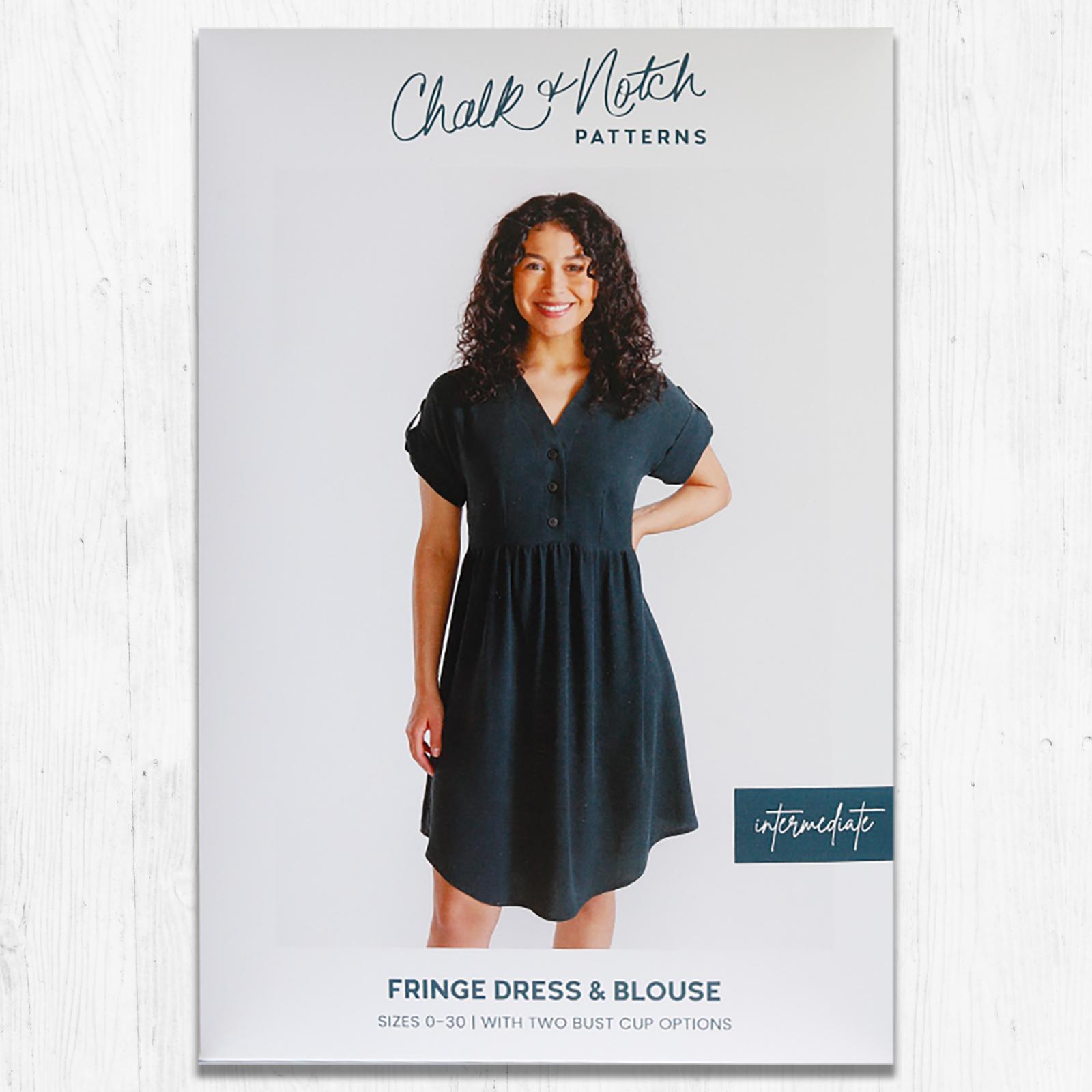 Chalk & Notch - Fringe Dress & Blouse