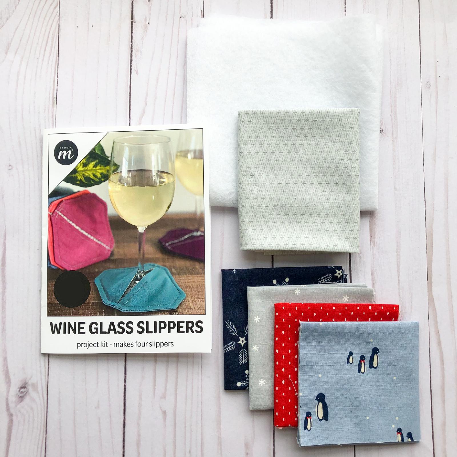 Wine Glass Slipper Kit - Prosecco Bundle