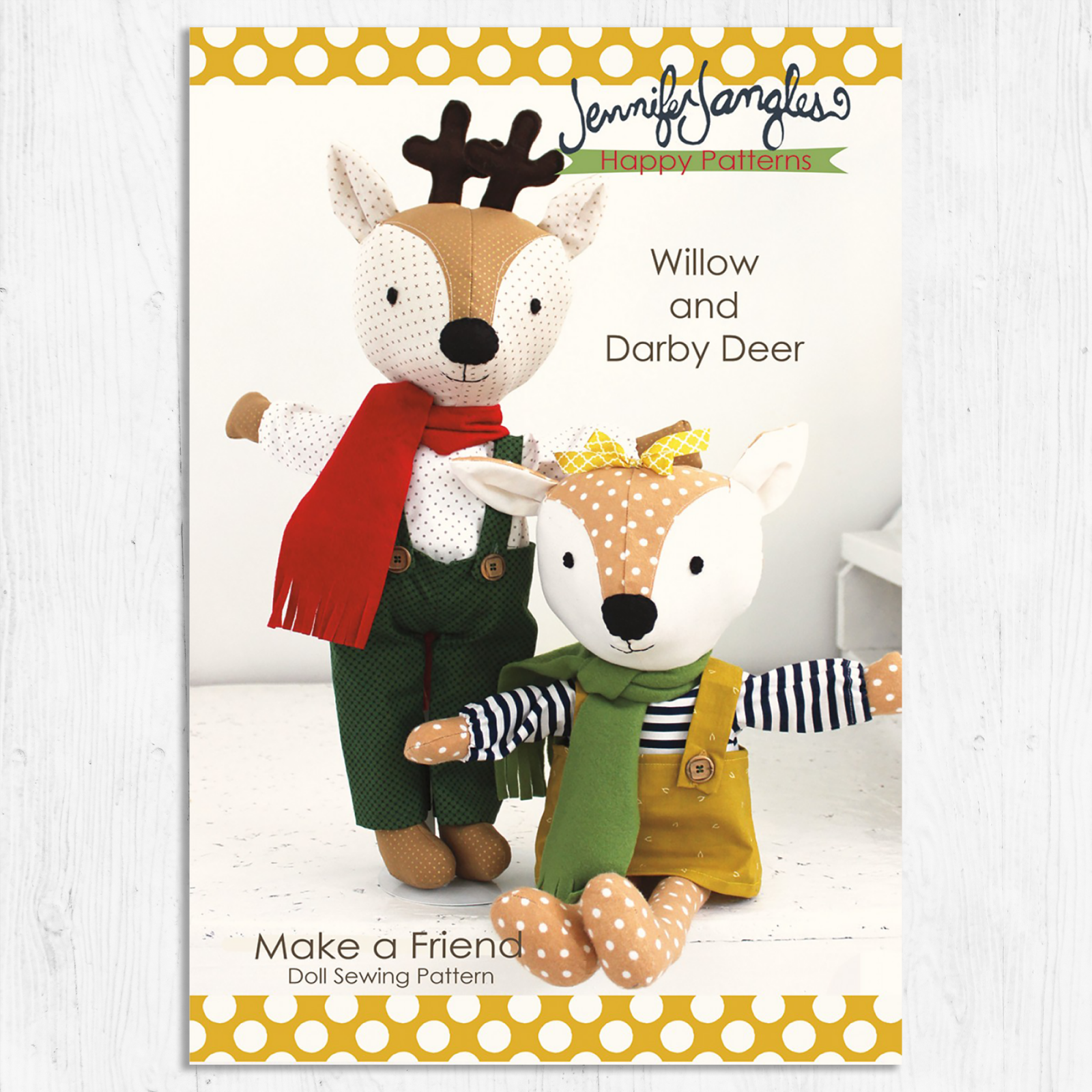 Make a Friend - Willow & Darby Deer