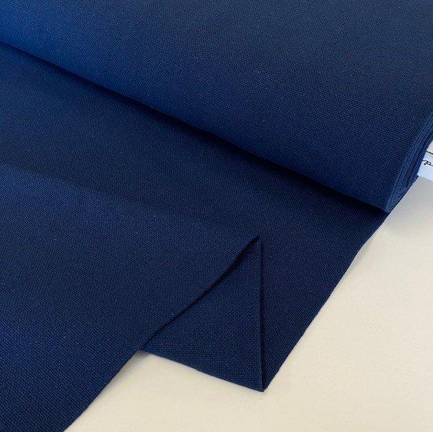 French Sashiko Prairie Cloth - Indigo